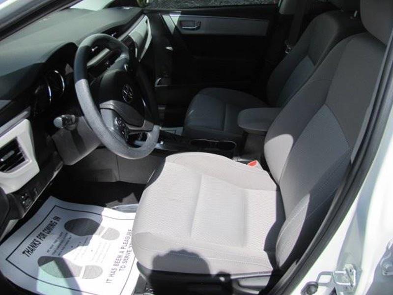 Toyota Corolla 2016 price $14,495
