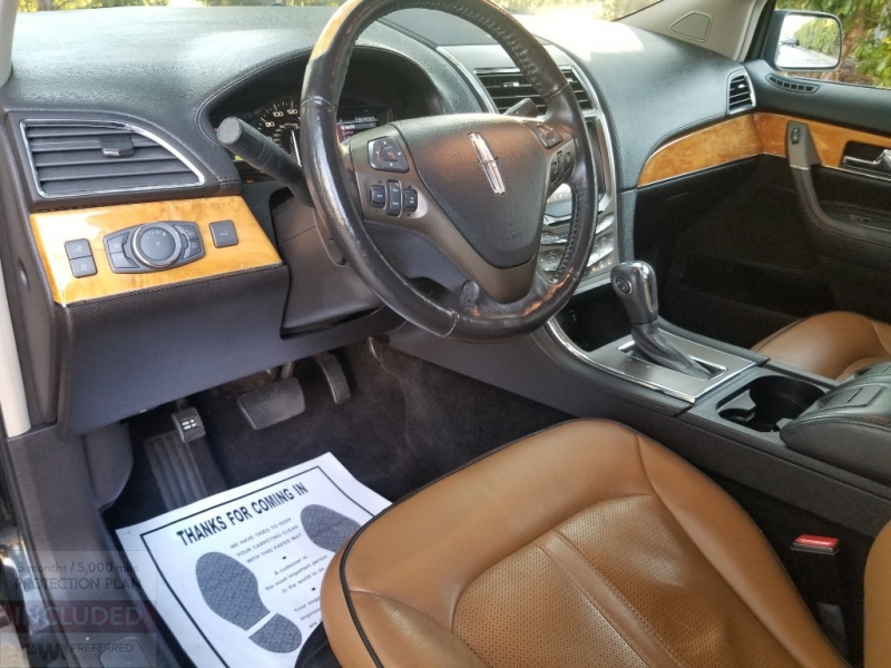 Lincoln MKX sunroof Navi Leather 2012 price $0 Cash
