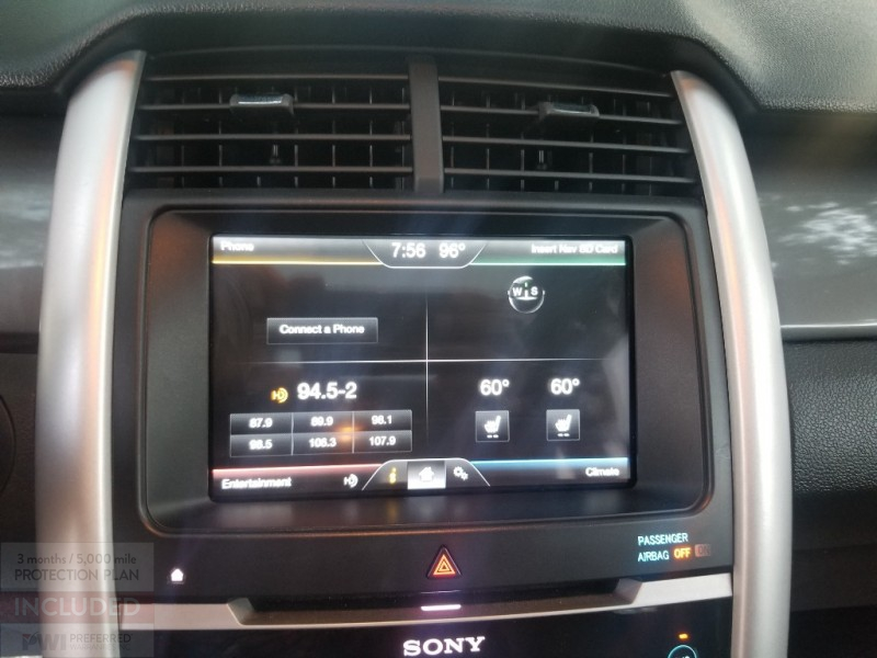 Ford Edge Sport 1Owner Sunroof Leather 2012 price $12,695 Cash