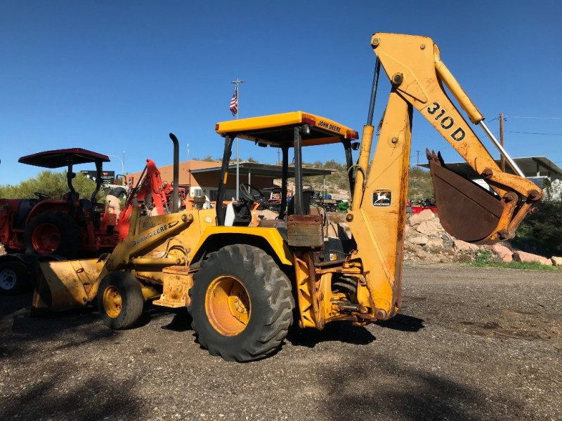 JOHN DEERE 310 D BACKHOE 0000 price $15,500