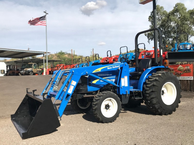 NEW HOLLAND WORKMASTER 35 0000 price $18,525