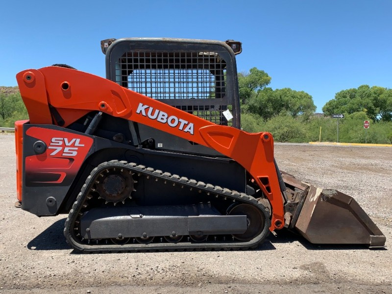 KUBOTA SKID STEER SVL75 0000 price $26,250