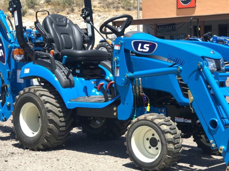 LS MT125 LOADER & BACKHOE 0000 price $18,350