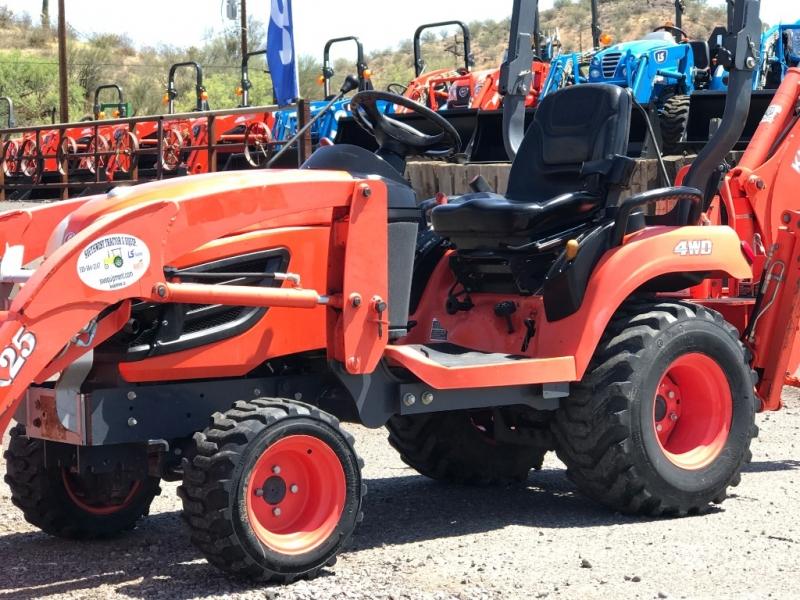 KUBOTA BX25 W/BACKHOE 0000 price $15,250