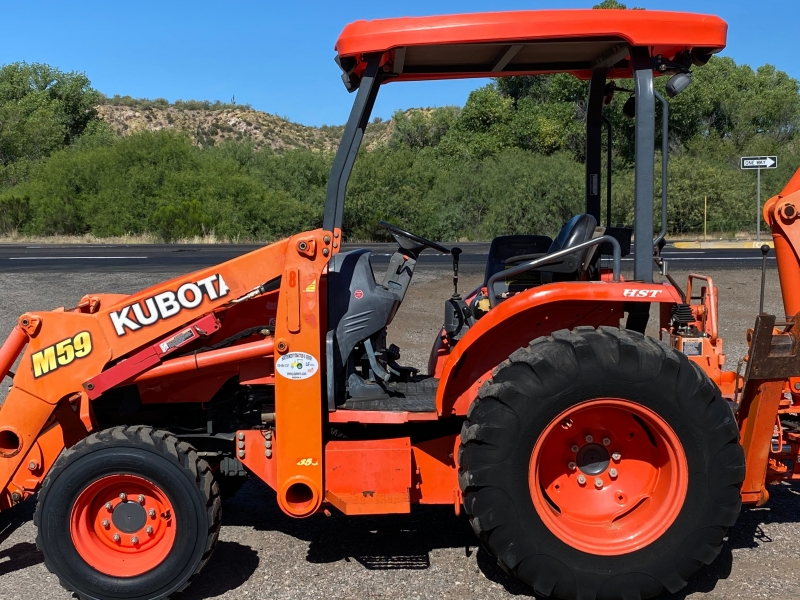 KUBOTA M59 W/ LOADER & BACKHOE 0000 price $34,500