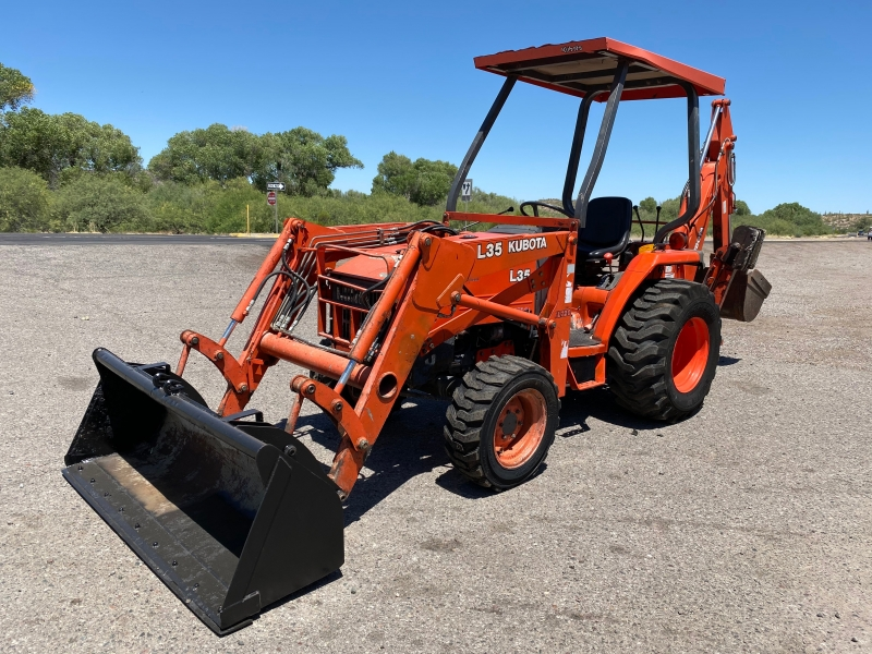 KUBOTA L35 W/BACKHOE 0000 price $19,900