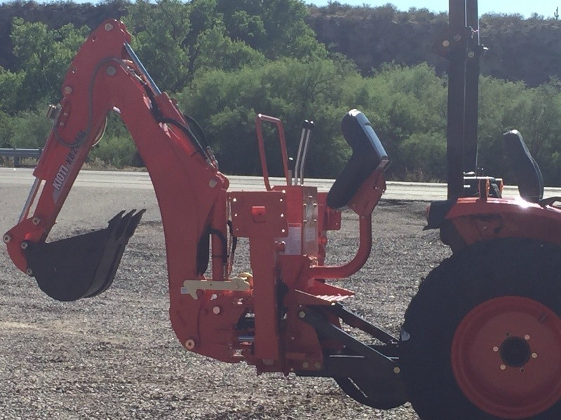 KIOTI CK 3510 W/ KIOTI LOADER & KIOTI BACKHOE 0000 price $27,800