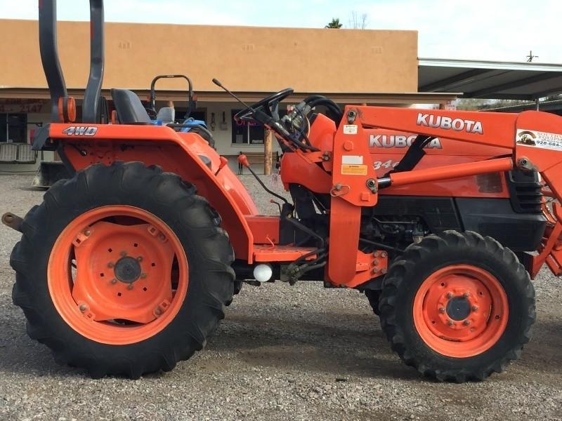 L3400 Kubota Tractor W Loader : Kubota l tractor southwest equipment auto