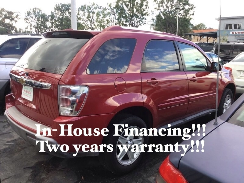 Chevrolet Equinox 2006 price $6,995