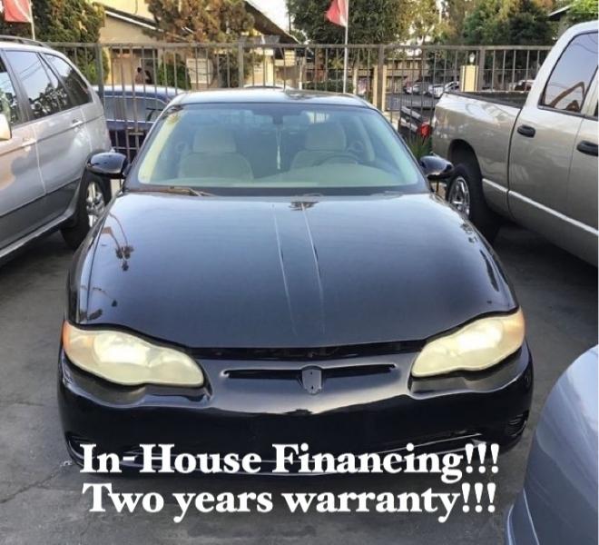 Chevrolet Monte Carlo 2004 price $4,995