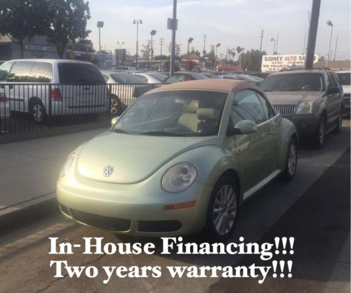 Volkswagen New Beetle Convertible 2008 price $6,995