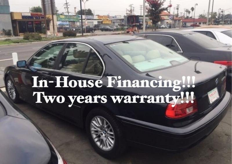 BMW 5-Series 2002 price $4,995