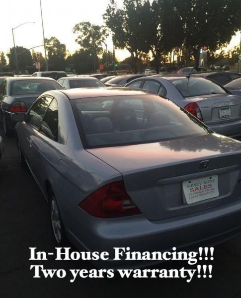 Honda Civic Cpe 2003 price $4,995