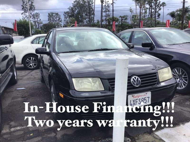 Volkswagen Jetta Sedan 2002 price $3,995