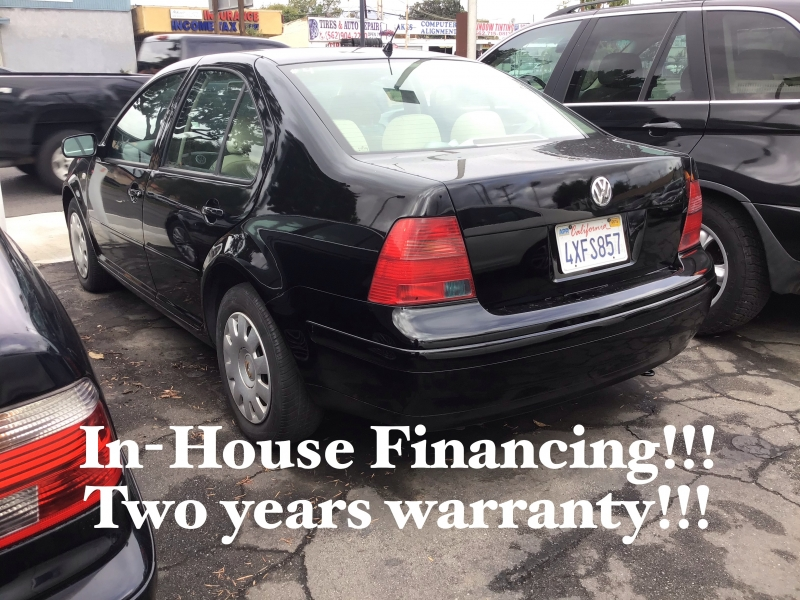 Volkswagen Jetta Sedan 2002 price $3,995