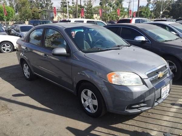 2011 Chevrolet Aveo 4dr Sdn Lt W 1lt
