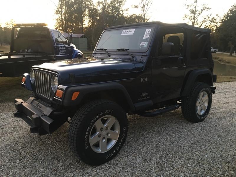 Jeep Wrangler 2004 price $9,480