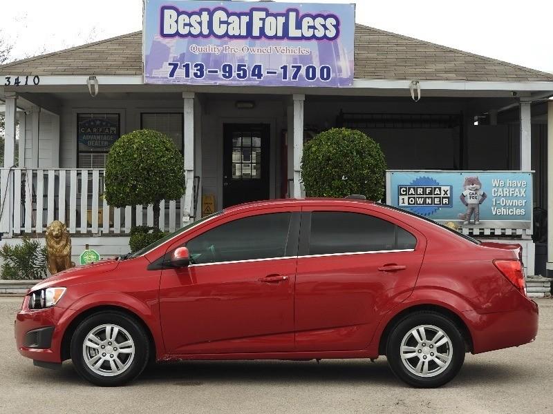 Chevrolet Sonic 2016 price $8,488