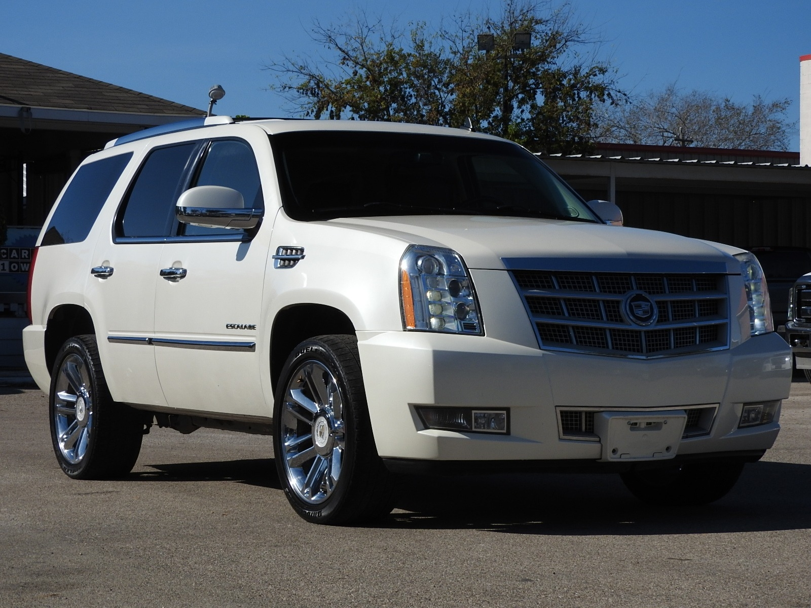 2012 Cadillac Escalade Awd Platinum Edition Best Car For Less