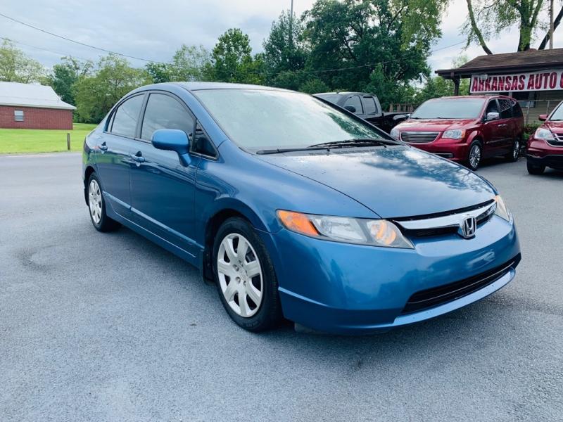 Honda Civic Sdn 2007 price call 501-945-3433