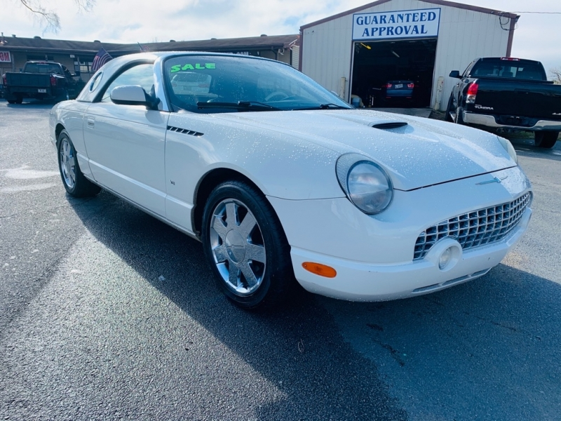 Ford Thunderbird 2003 price $12,100