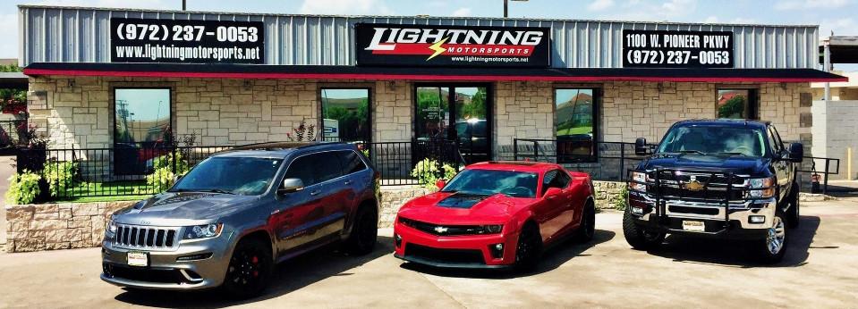 lightning motorsports used car dealer grand prairie dallas tx. Black Bedroom Furniture Sets. Home Design Ideas