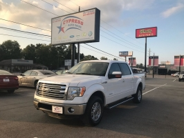 Ford F150 4WD LARIAT EcoBoost, Twin Turbo, 3.5 Liter 2013