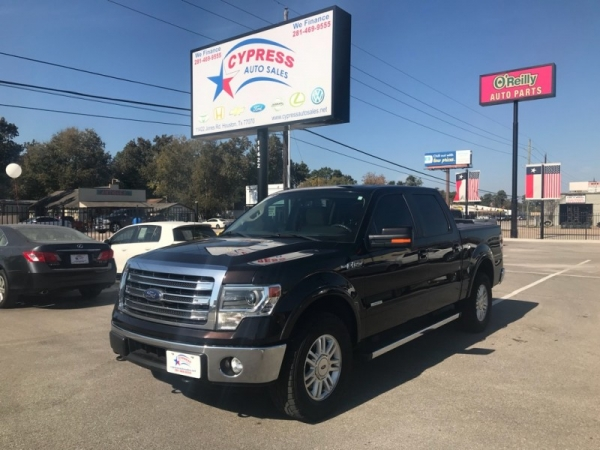 Ford F150 4WD LARIAT ECOBOOST 2014