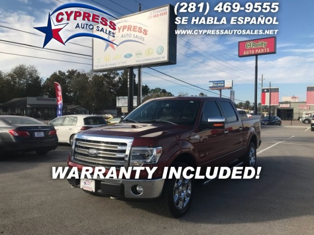 2014 Ford F150 4WD KING RANCH