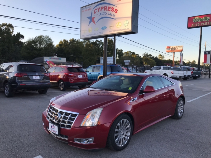 2013 Cadillac Cts Coupe >> 2013 Cadillac Cts Coupe 2 Dr