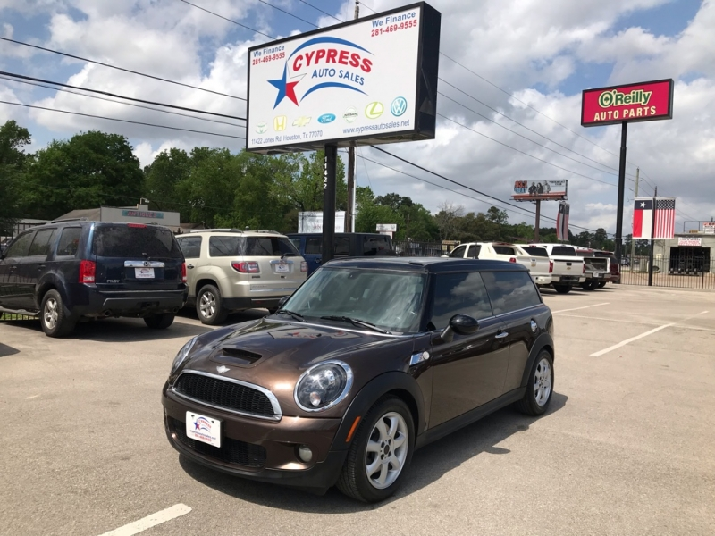 2009 Mini Clubman Cypress Auto Sales Auto Dealership In Houston
