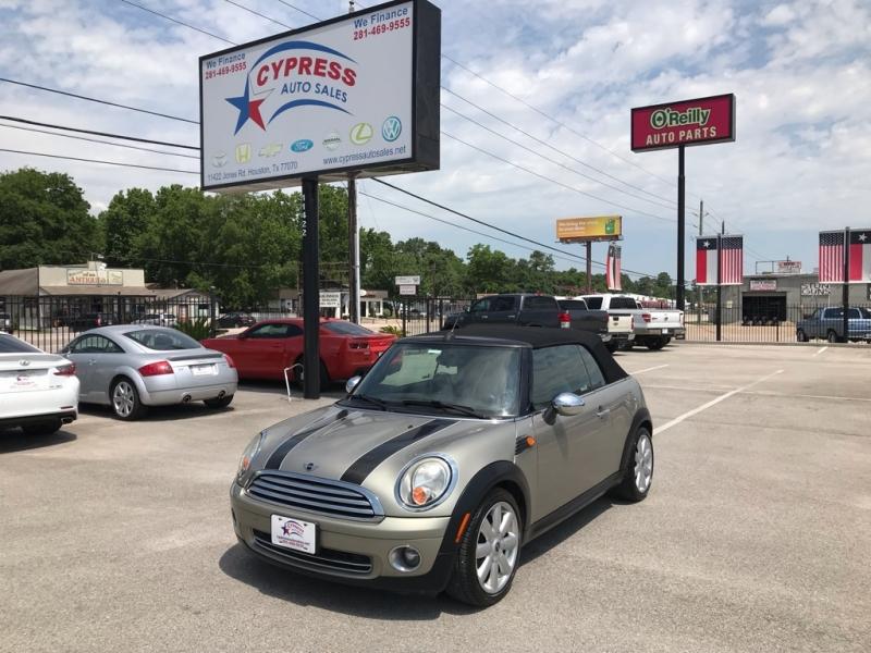 2009 Mini Cooper Cypress Auto Sales Auto Dealership In Houston
