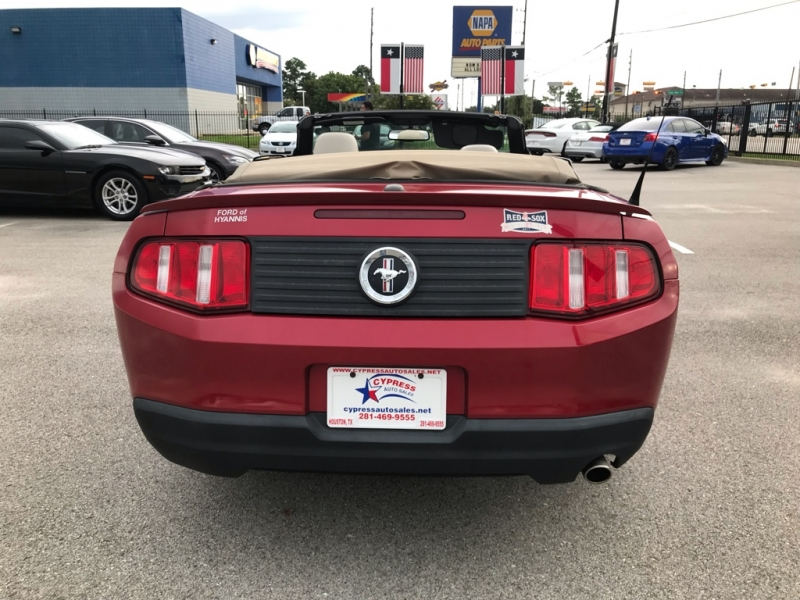 Ford MUSTANG 2010 price $11,995