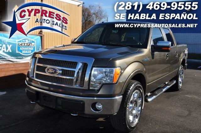 2009 Ford F150 4WD LARIAT