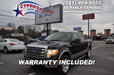 Ford F150 4WD LARIAT 2013