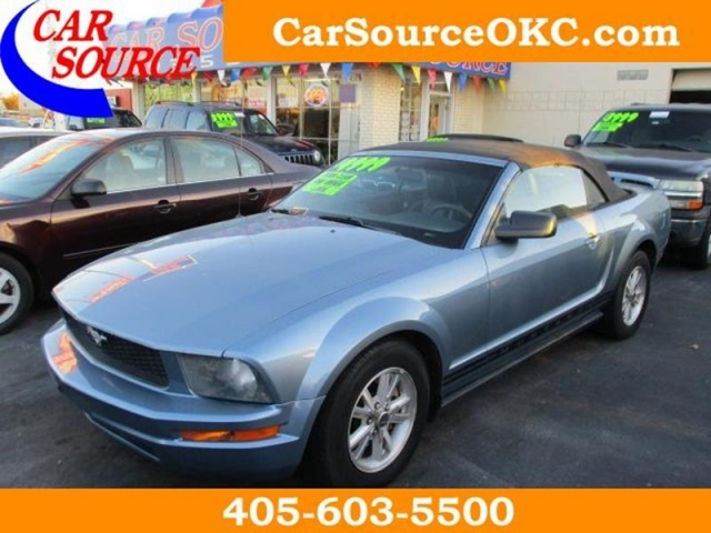 Car Source Okc >> 2006 Ford Mustang 2 Dr Convertilble