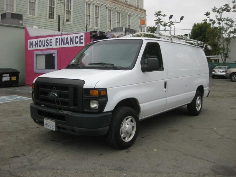 Ford Cargo Vans >> 2008 Ford Econoline Cargo Van E 150 Commercial