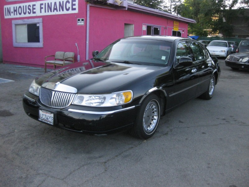 1999 Lincoln Town Car Air Suspension Reset