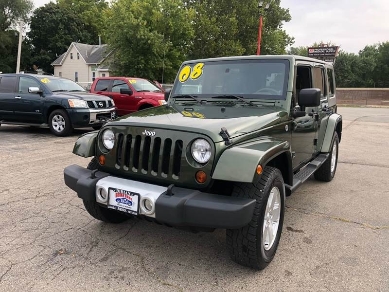 Jeep Wrangler Unlimited 2008 price $16,995