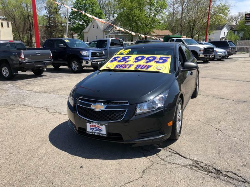 Chevrolet Cruze 2014 price $8,995