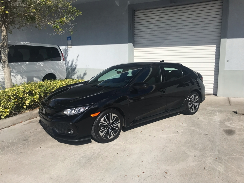 Honda Civic Hatchback 2017 price $0