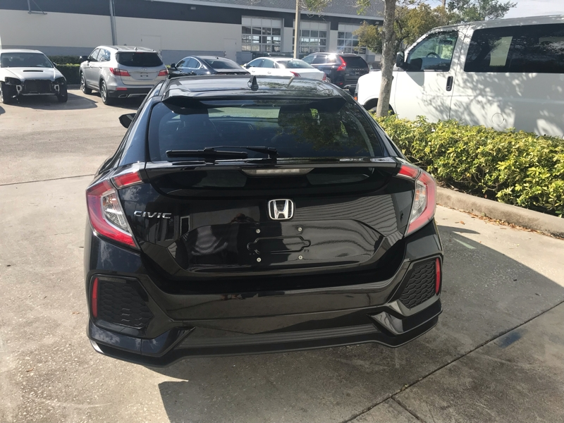 Honda Civic Hatchback 2017 price $0