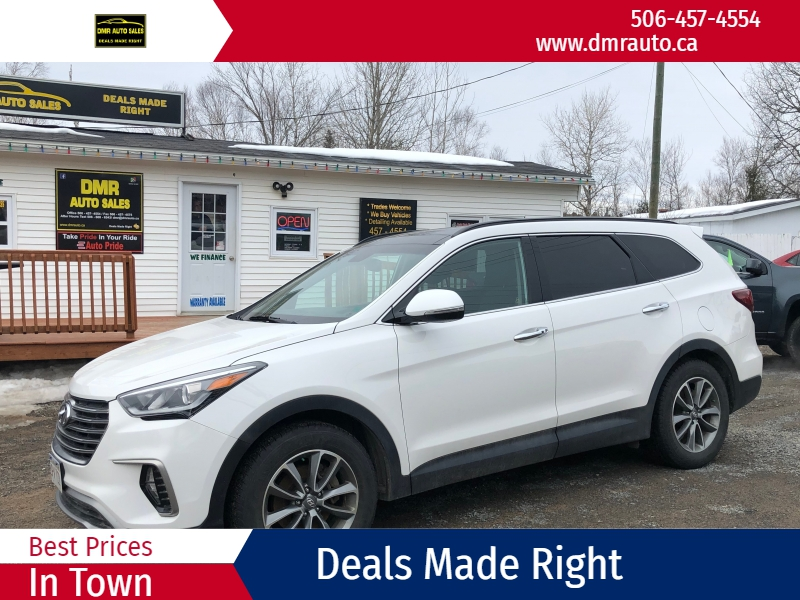 Hyundai Santa Fe 2018 price $25,900