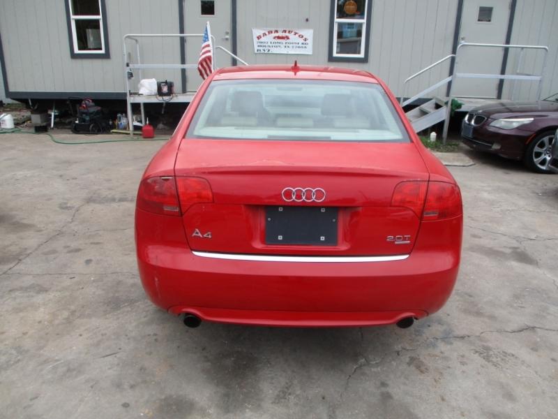 Audi A4 2008 price $3,200