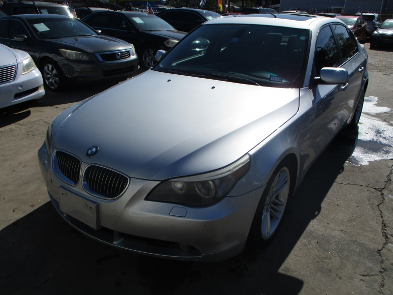 BMW 5-Series 2007 price $4,200