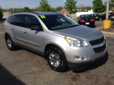 2011 Chevrolet Traverse LS | 3rd Row