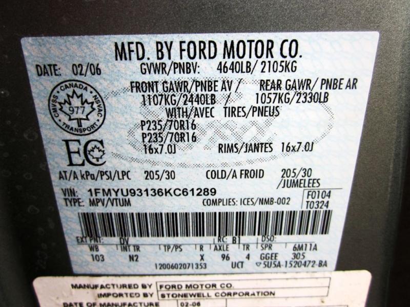 FORD ESCAPE 2006 price $6,999