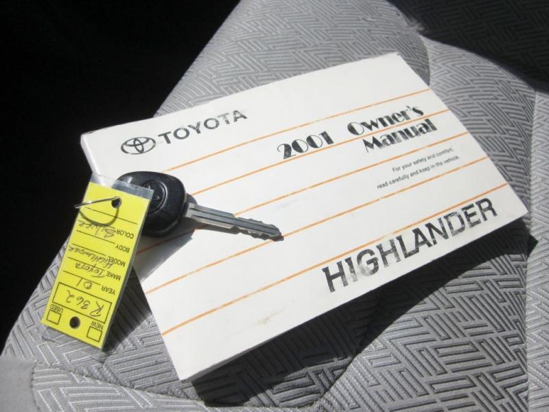 TOYOTA HIGHLANDER 2001 price $1,999
