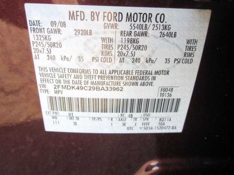 FORD EDGE 2009 price $8,999