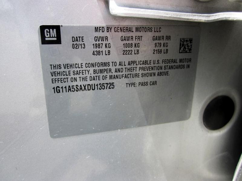 CHEVROLET MALIBU 2013 price $6,999